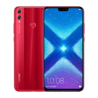 Honor 8X 64GB Dual Sim Red