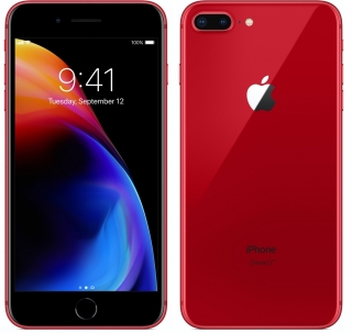 Apple iPhone 8 Plus 64GB Red Edition