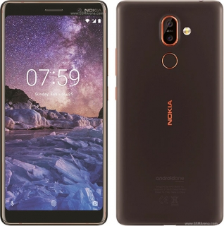 Nokia 7 Plus Dual SIM Black Copper