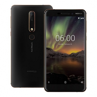 Nokia 6.1 32GB Dual Sim Black Copper
