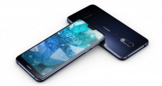 Nokia 7.1 32GB Dual SIM Midnight Blue