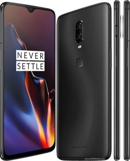 OnePlus 6T 8GB/256GB Dual Sim Midnight Black