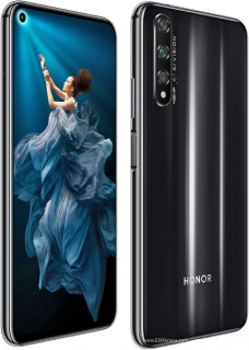 Honor 20 128GB Dual Sim Midnight Black
