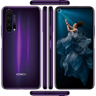 Honor 20 Pro 256GB Dual Sim Phantom Black